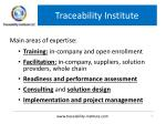 traceability institute1