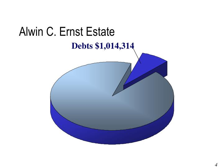 Alwin C. Ernst Estate