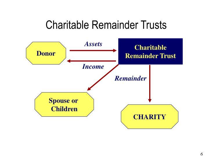 Charitable Remainder Trusts