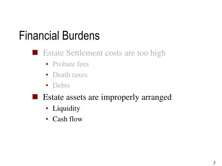 Financial Burdens