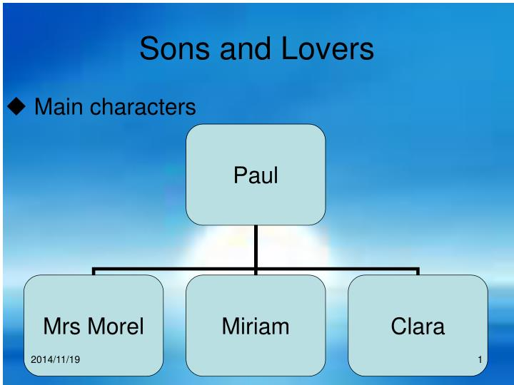 sons and lovers n.