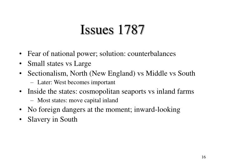 Issues 1787