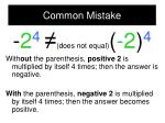 common mistake1