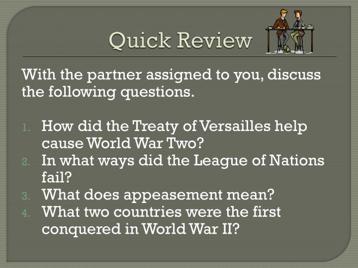 😂 Causes of world war 2 appeasement  World War II for Kids