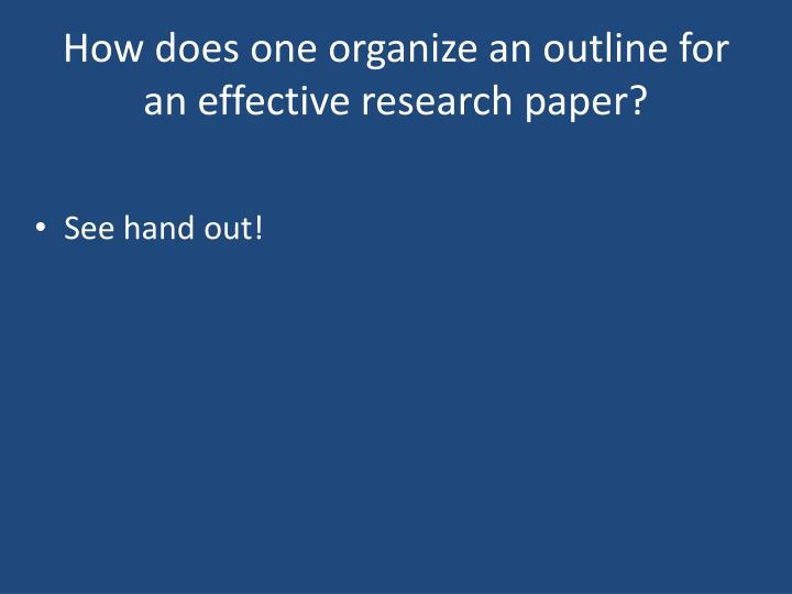aspects and qualities of an effective research paper An effective leader can be humble and strong at the same time, teach and learn at the same time, give credit to his followers and command respect at the same time to be prepared on writing a leadership essay, you can also read biography essays.
