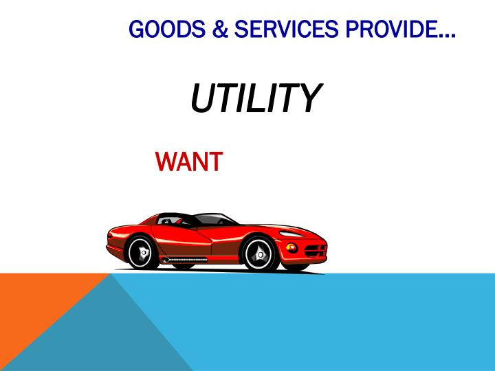 GOODS & SERVICES PROVIDE...