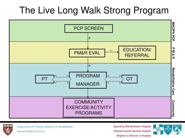 The Live Long Walk Strong Program