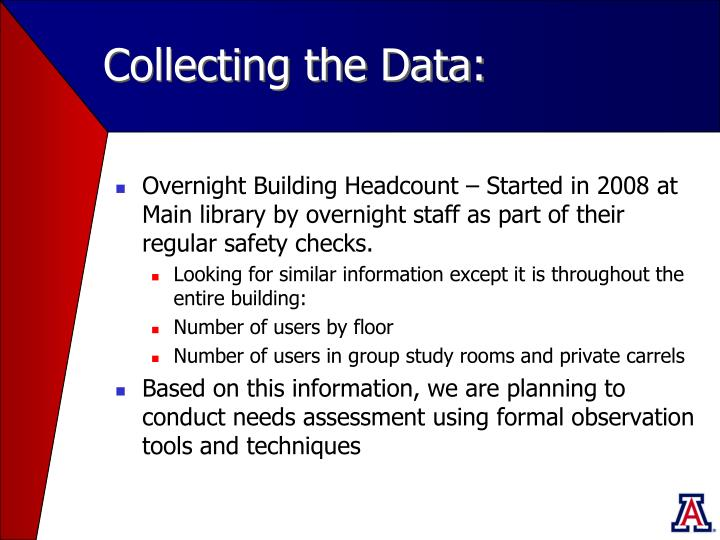 Collecting the Data: