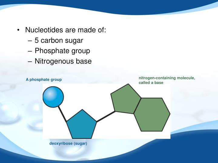nitrogen-containing molecule,