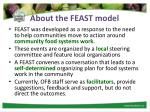 about the feast model