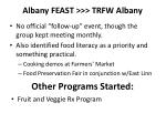 albany feast trfw albany