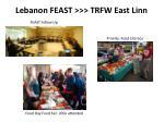 lebanon feast trfw east linn
