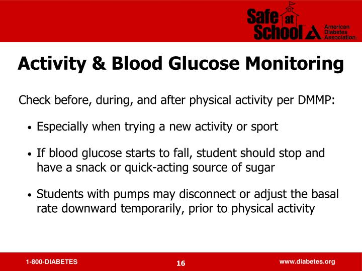 Activity & Blood Glucose Monitoring