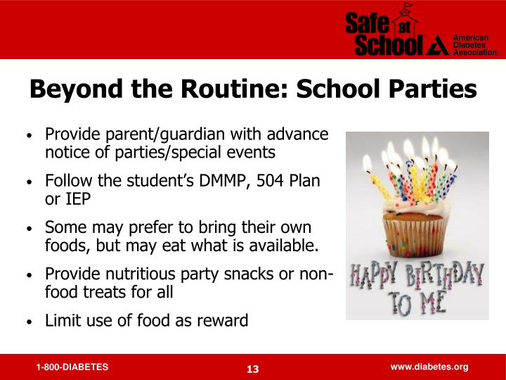 Beyond the Routine: School Parties