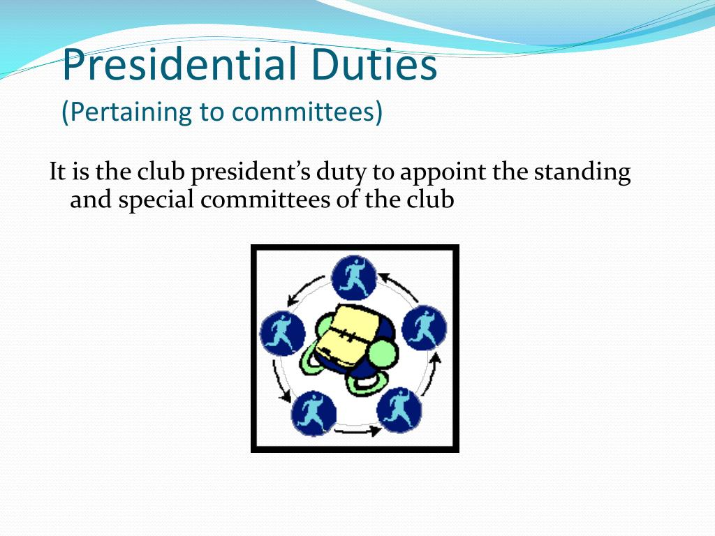 PPT - So have you determine your path as President of your