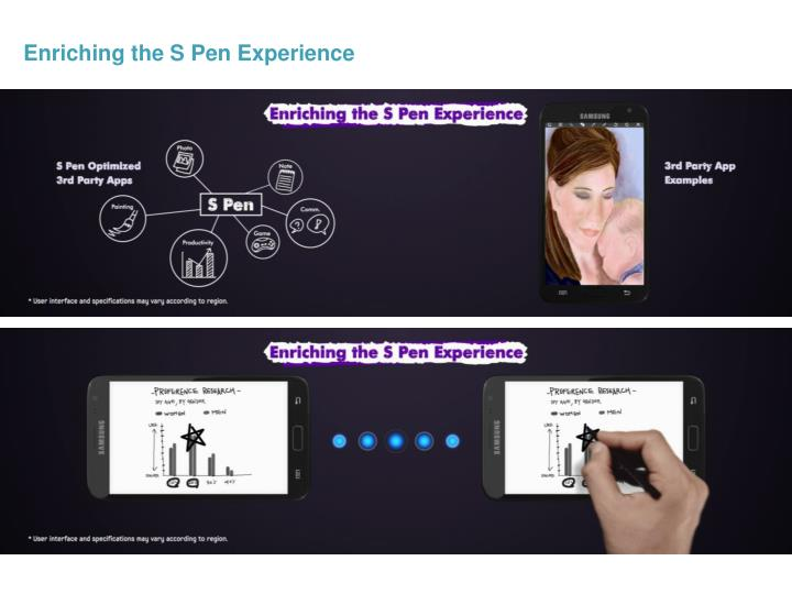Enriching the S Pen Experience