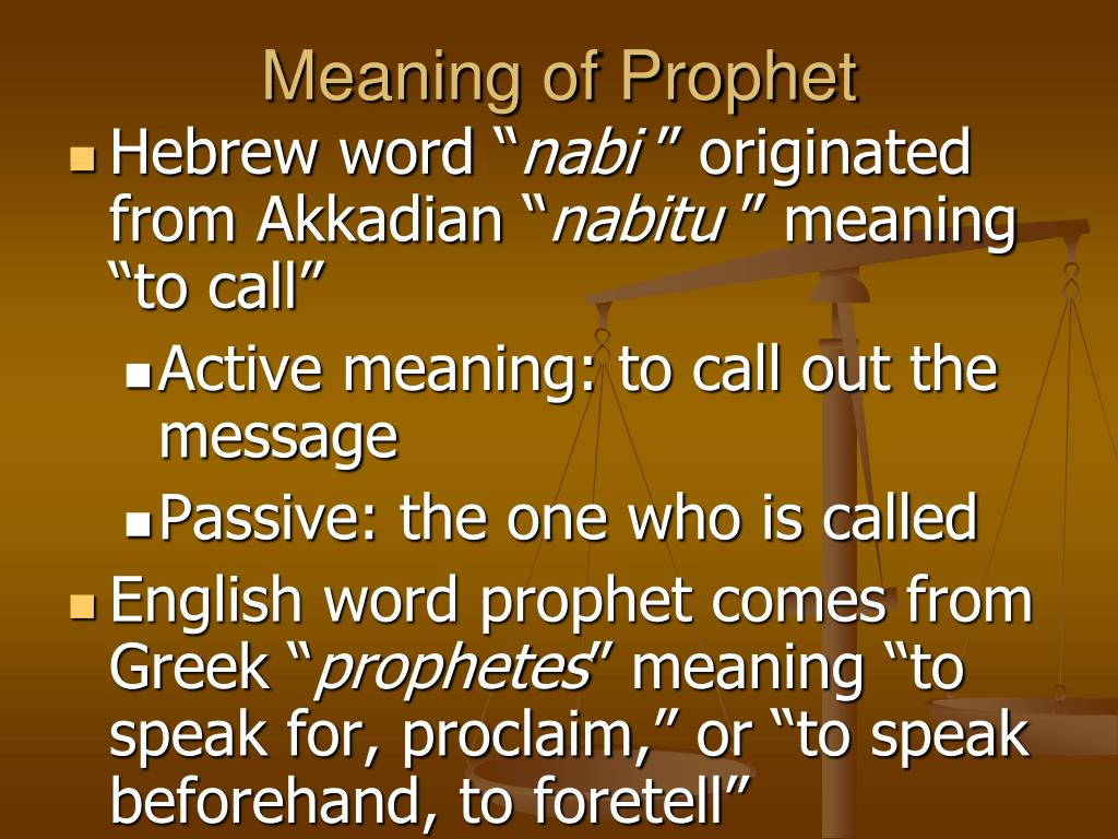 PPT - Latter Prophets: The Major and Minor Prophets
