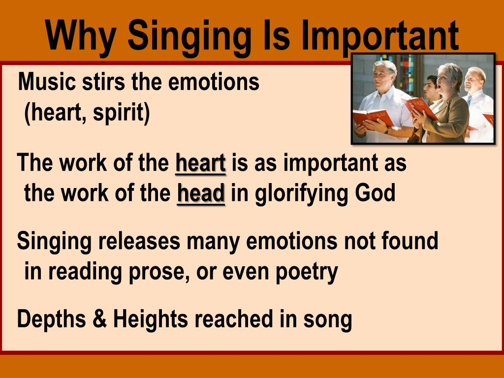 PPT - Speaking To One Another In Psalms, Hymns and Spiritual