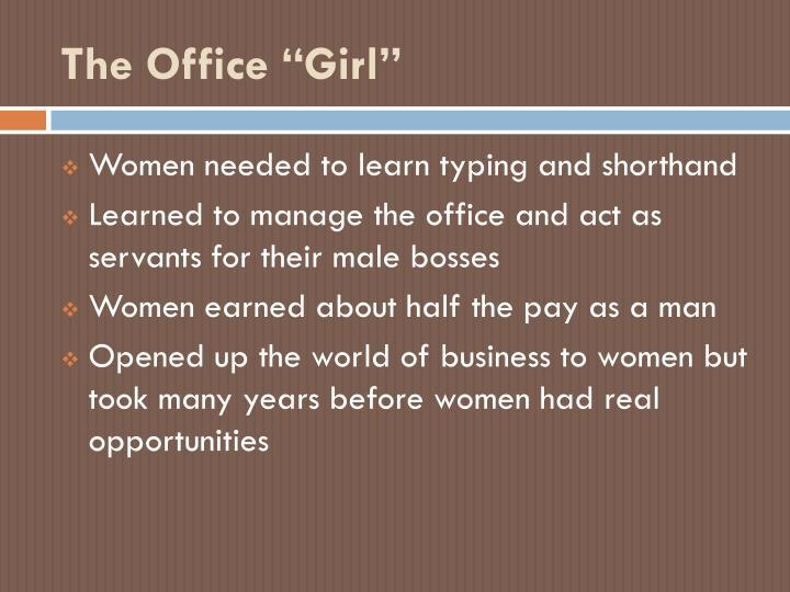 "The Office ""Girl"""