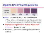 dipstick urinalysis interpretation8