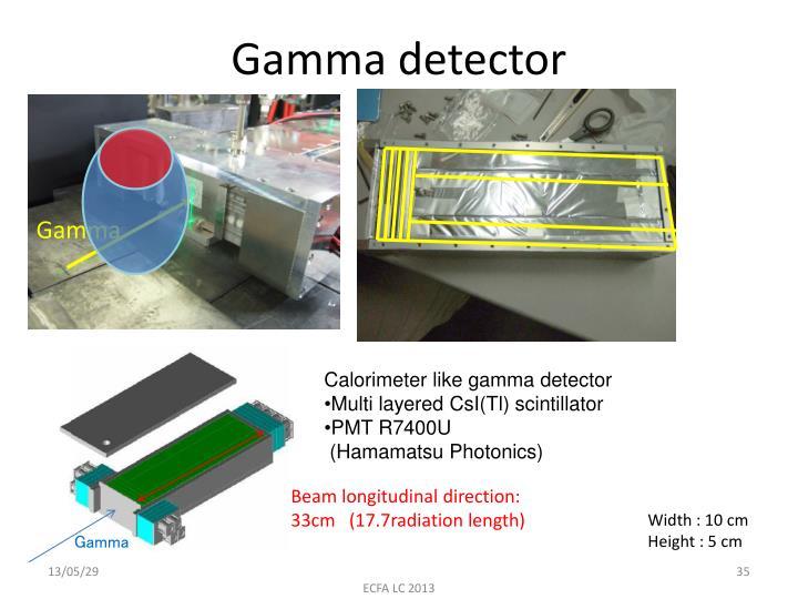 Gamma detector