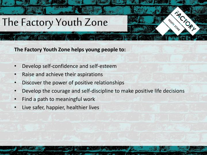The Factory Youth Zone
