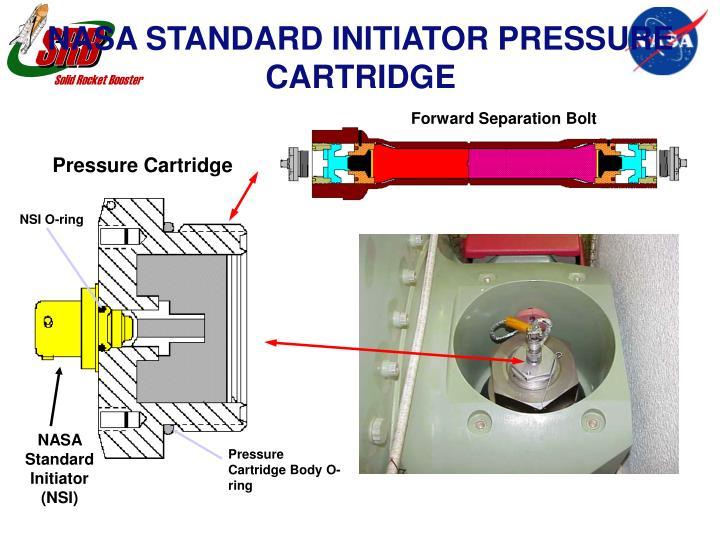 NASA STANDARD INITIATOR PRESSURE CARTRIDGE