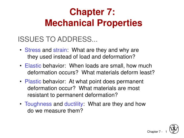 chapter 7 mechanical properties n.