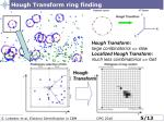 hough transform ring finding