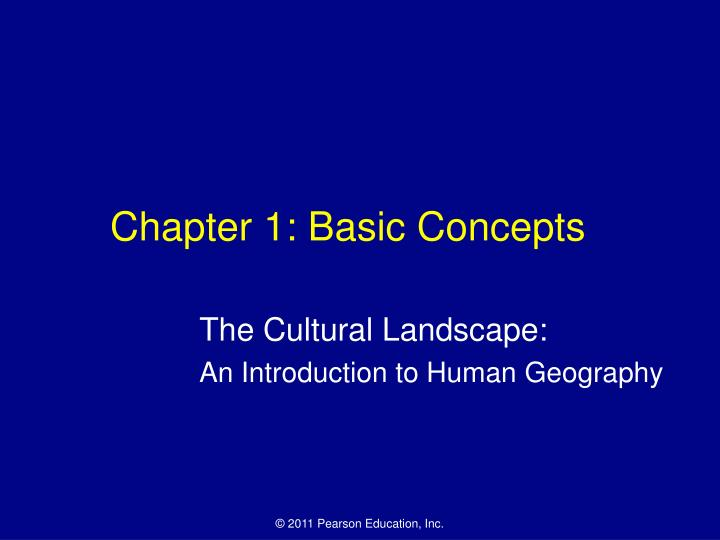 chapter 1 basic concepts n.