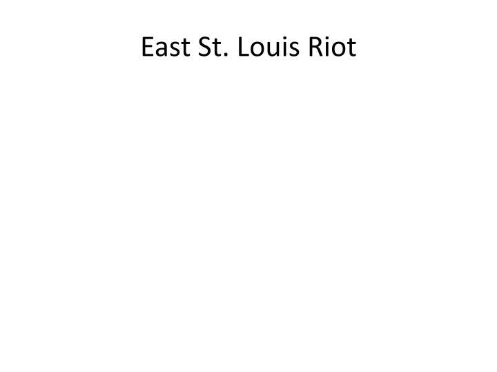 East St. Louis Riot