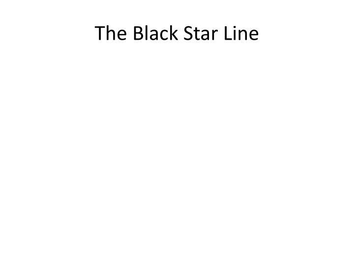 The Black Star Line