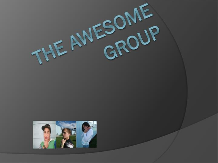the awesome group n.