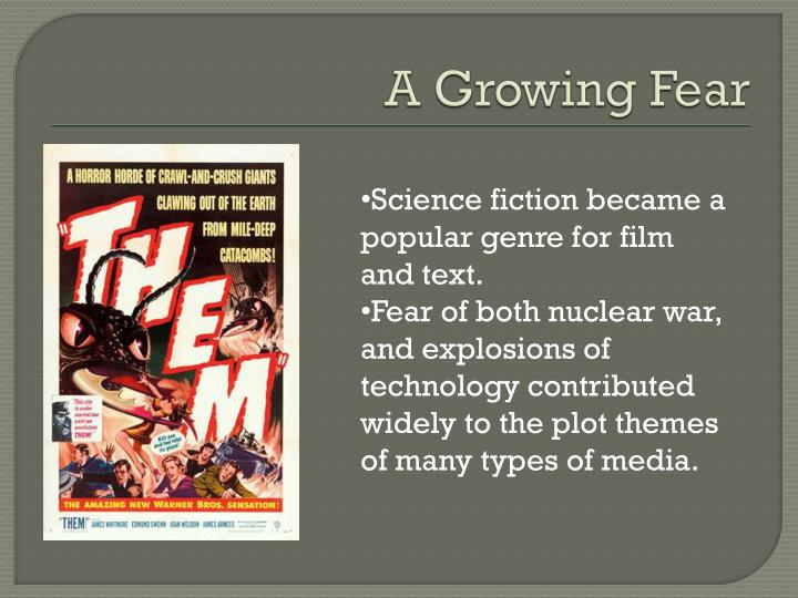 the growing popularity pf the science fiction genre in literature Science fiction is a genre of speculative fiction, typically dealing with imaginative concepts such as advanced science and technology, spaceflight, time travel, and extraterrestrial life science fiction often explores the potential consequences of scientific and other innovations, and has been called a literature of ideas.