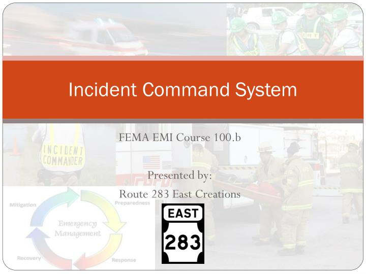 incident command system n.