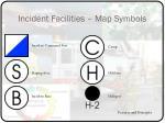 incident facilities map symbols