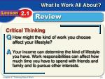 critical thinking review1