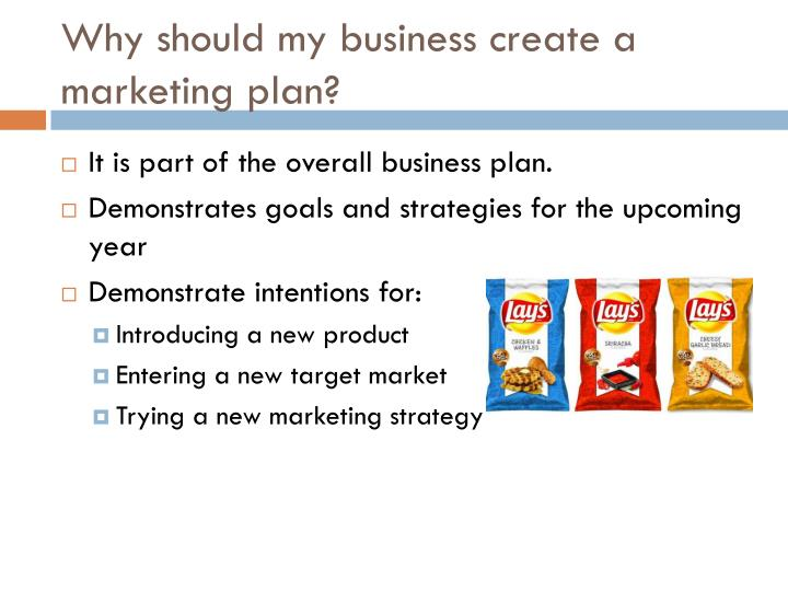 Why should my business create a marketing plan
