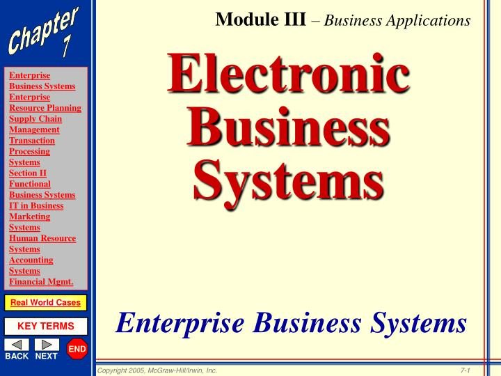 electronic business systems n.