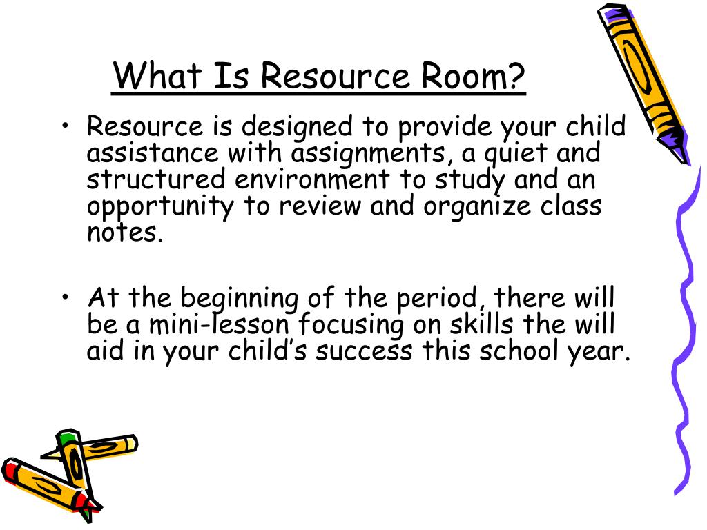 Ppt  What Is Resource Room Powerpoint Presentation  Id What Is Resource Room N