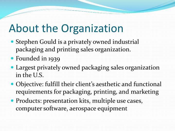 About the organization