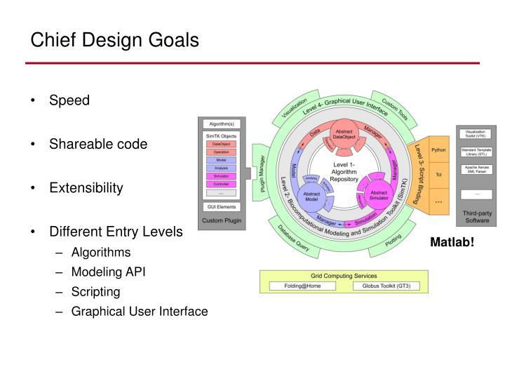 Chief Design Goals