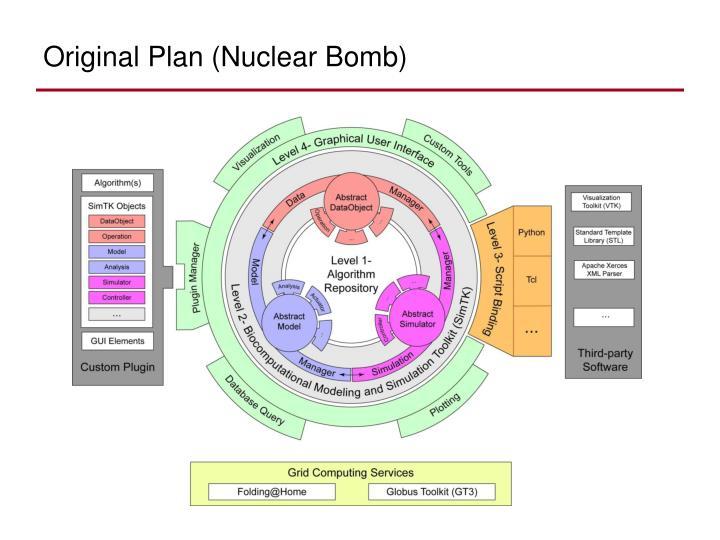Original plan nuclear bomb