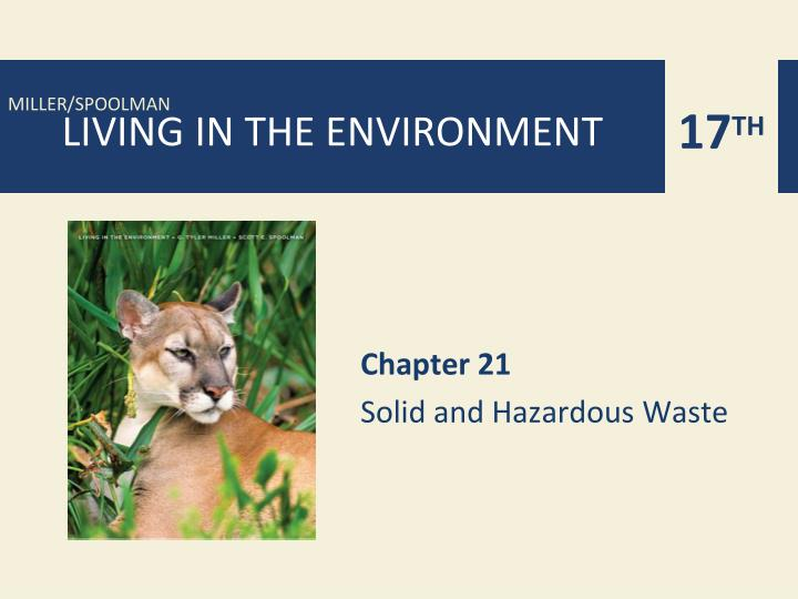 chapter 21 solid and hazardous waste n.