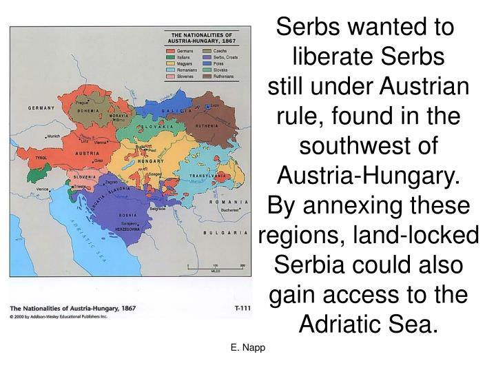Serbs wanted to