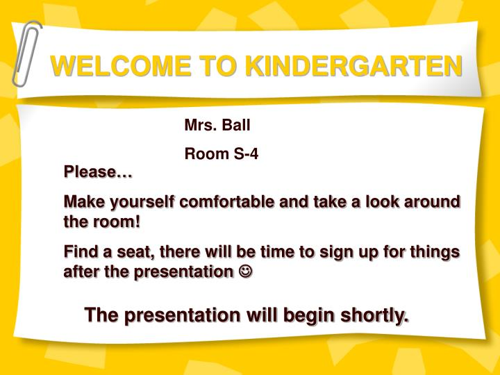 ppt welcome to kindergarten powerpoint presentation id 6838881