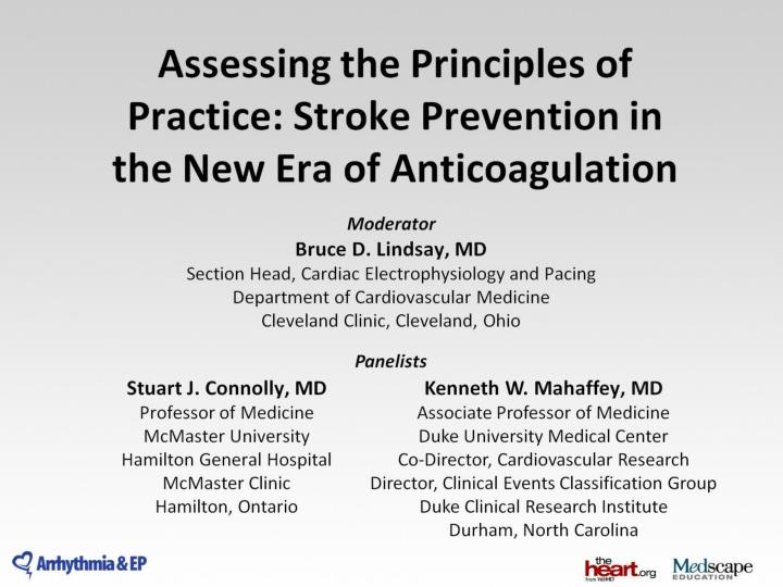 PPT - Assessing the Principles of Practice: Stroke