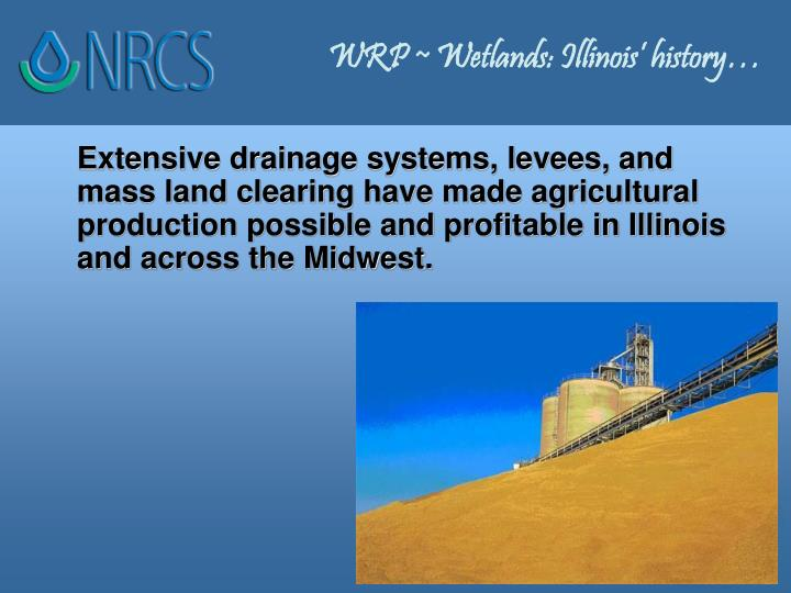 WRP ~ Wetlands: Illinois' history…