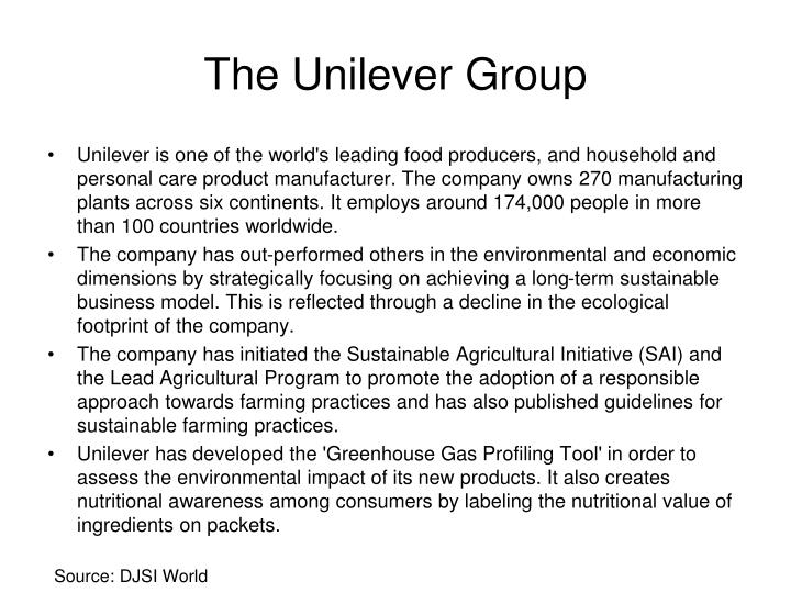The Unilever Group