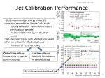 jet calibration performance